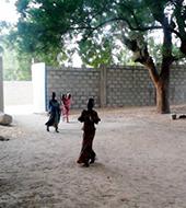 Maza Tsaye Security Wall